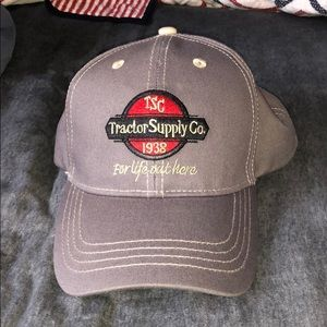 Strap back Tractor Supply Hat